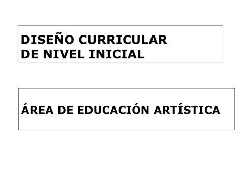 Diseño Curricular Dominicano Nivel Inicial Dise 241 O Curricular De Nivel Inicial Educacion Artistica