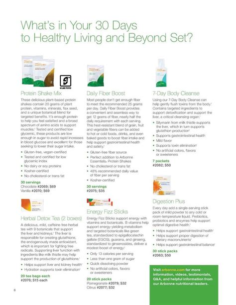 30 Days To Healthy Living Detox by 463 Best Arbonne Images On Arbonne Products