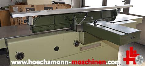 Gebrauchtes Werkzeug Ankauf by Martin Abrichthobelmaschine T 51 Gebraucht Hoechsmann
