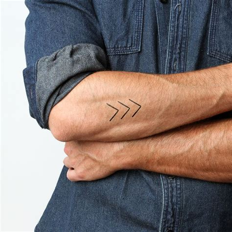 permanent tattoos for men 17 best images about arrows temporary tattoos on