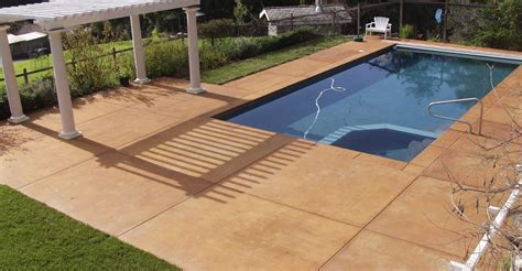 swimming pool decking pool decks swimming pool deck design photos info the concrete network
