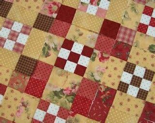 Blueberries Patchwork - 380 best nine patch quilts images on