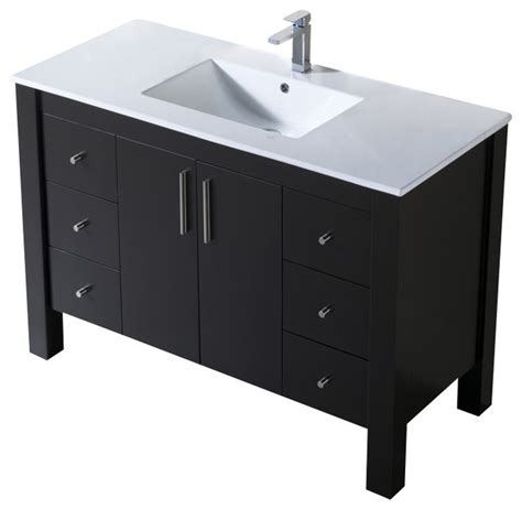Parsons Vanity by Inolav Vanity Parsons 49 With Porcelain Top Reviews
