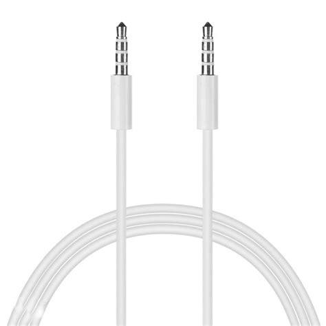 Kabel Aux 35mm To 1 Meter kabel audio aux stereo 3 5mm hifi 1 meter untuk iphone 4