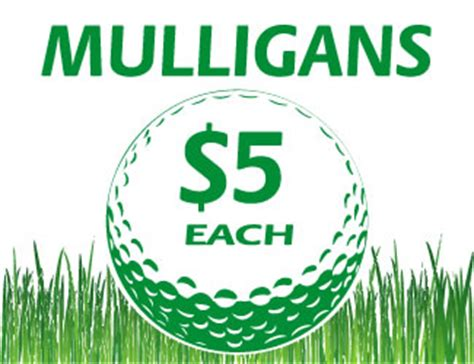 printable mulligan tickets mulligan tee signs raise more money selling mulligans