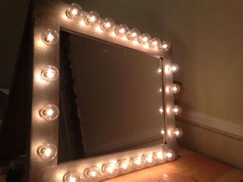 custom lit glamor vanity makeup table top mirror by