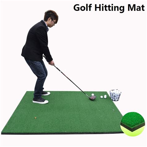 How To Make A Golf Practice Mat by Golf Hitting Mat Artificial Grass For Putting And