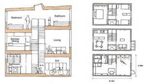 Home Layout by Muji S Home Designed For Narrow Spaces