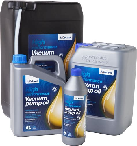 vacuum oil pump delaval vacuum pump oil