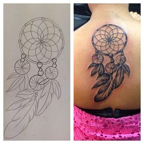 tattoo back dreamcatcher 7 dreamcatcher back tattoo design tattoos dreamcatcher