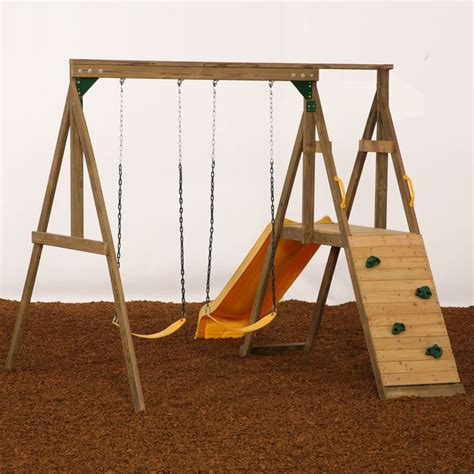 small space swing set sonoma swing set
