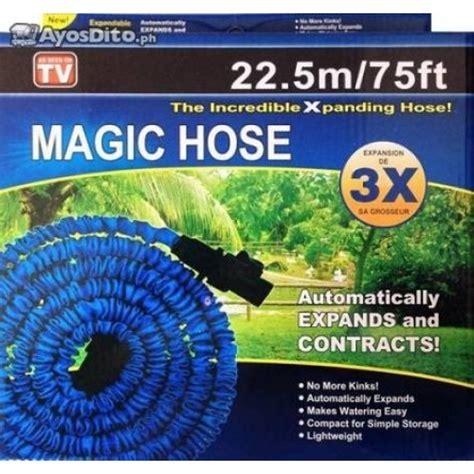 magic x hose expanding garden hose 20m