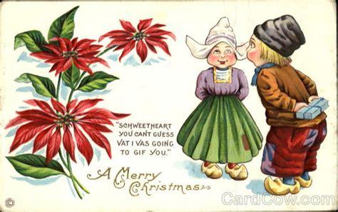 merry christmas dutch children