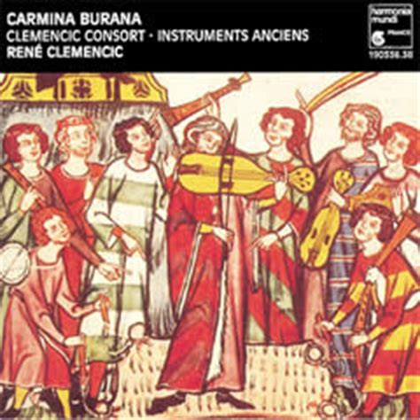 carmina burana best recording 1001 classical works the best i 12th 17th centuries