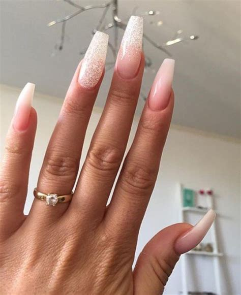 long pattern nails 73 coffin nails to die for style easily