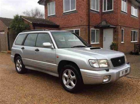 forester subaru 2002 subaru 2002 forester s turbo awd auto silver car for sale