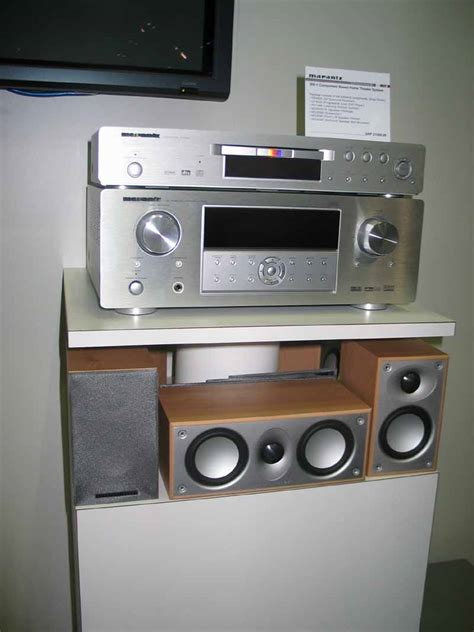 marantz bw  component based home theater system audioholics