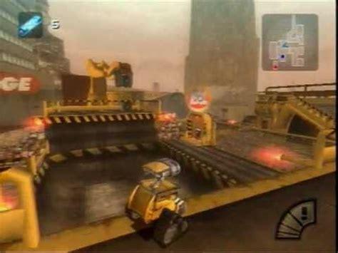 wall e game ps2 wall e gameplay youtube