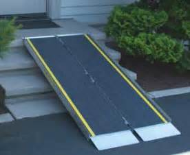 Stair Ramps For Wheelchairs by Choosing A Ramp For Your Single Family Home Part 3