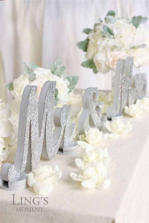 mr and mrs table decoration 25 best ideas about table decor on