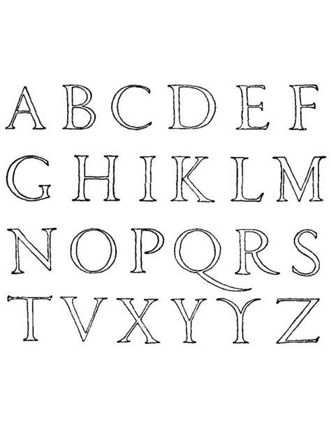 lettere dell alfabeto stilizzate disegno di lettere alfabeto da colorare per bambini