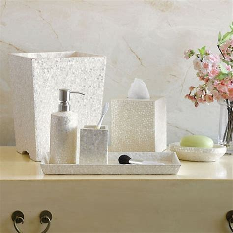 capiz shell bathroom accessories 17 best images about bath accessories on pinterest