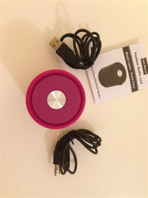 Chicbuds Porta Bluetooth Speaker Donatella Berkualitas chicbuds porta bluetooth speaker review gadgets and gizmos