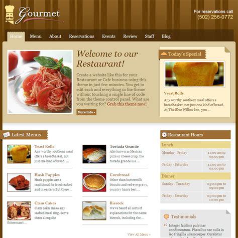 layout restaurant website restaurant web design top level web design