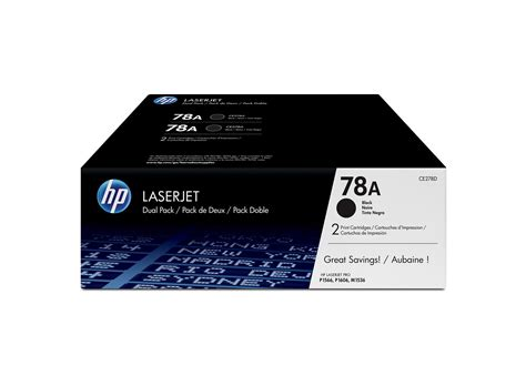 Toner Laserjet 78a hp 78a 2 pack black original laserjet toner cartridges hp store canada
