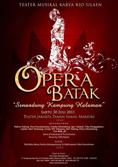 complicated life   digitalized world opera batak