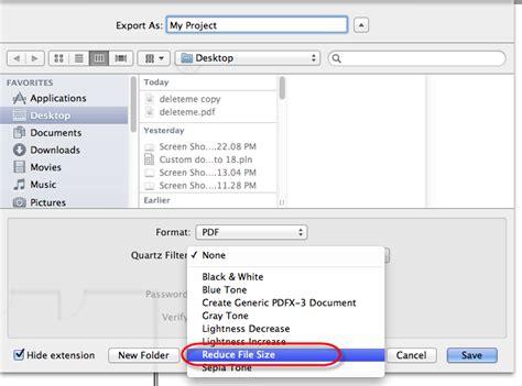 compress pdf choose size cadimage blog 187 further reduce pdf file size on mac
