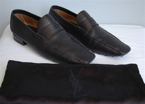 ysl loafers yves laurent mens loafer driving shoe 41 ebay
