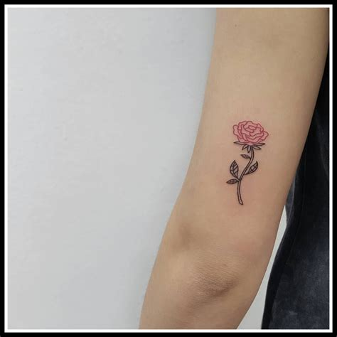 small rose tattoos tumblr gemini ideas simple mini flower