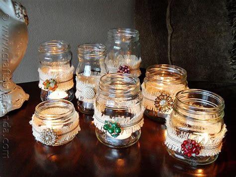 vintage luminaries diy home decor  handmade gifts