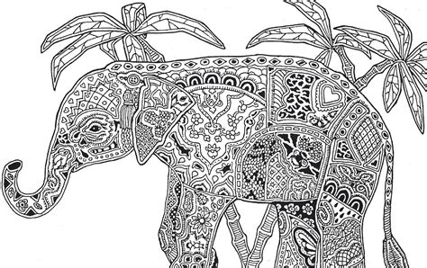 coloring pages for adults difficult animals animal picture society