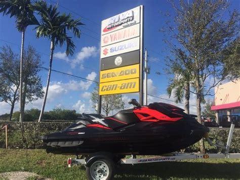 sea doo boats for sale in miami sea doo rxp x boats for sale in miami florida