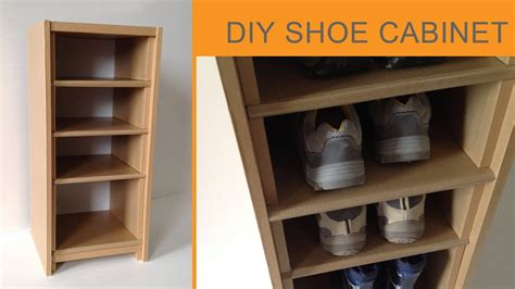 shoe cabinet diy diy cardboard shoe cabinet cardboard furniture hd doovi