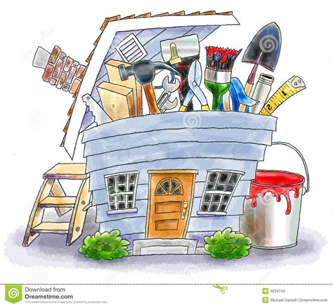 house improvements home improvement stock photos image 3234743