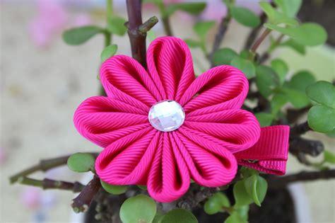 flower design with ribbon china 8 petals flower design ribbon bows china clip