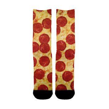 pizza pattern socks shop pizza socks on wanelo