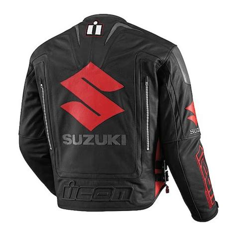 Suzuki Jacket Icon Jackets Revzilla