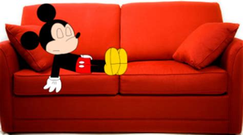 mickey couch mickey sleeping on couch by marcospower1996 on deviantart