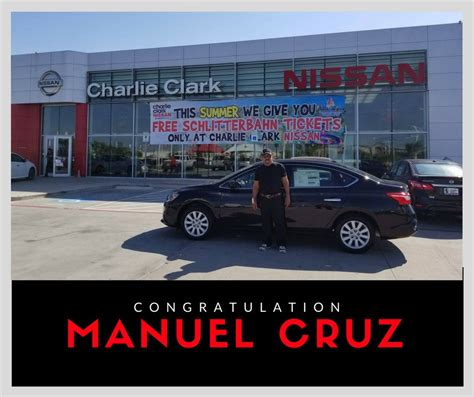 Clark Nissan Brownsville by Congratulations To Mr Manuel On He S New Nissan