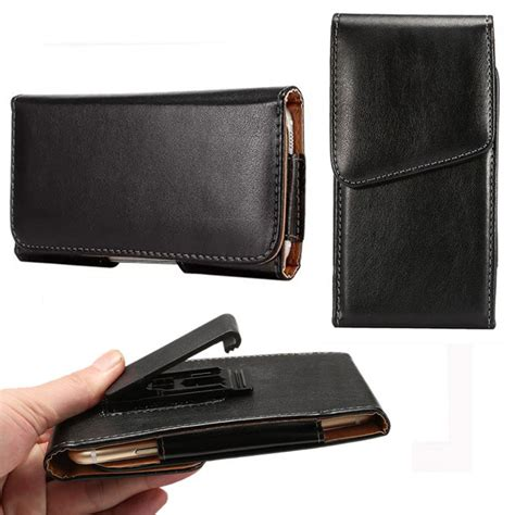 Ht Pouch 360 rotation leather flip cover for homtom ht10 for homtom ht17 5 7inch pouch bag belt clip
