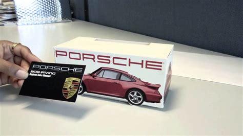 Porsche Business Card porsche pop up business card holder by american slide