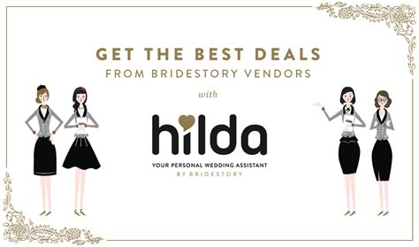 get the best deals from bridestory vendors with hilda