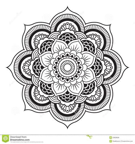 mandala coloring pages vector mandala stock vector illustration of lace moroccan