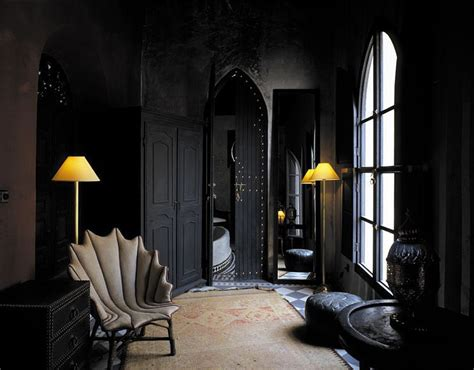 moroccan interior design the black wall a bold statement in interior design