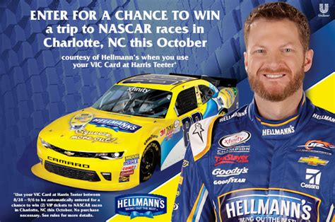 Nascar Giveaway - harris teeter s ultimate nascar experience giveaway plus autographed gear giveaway
