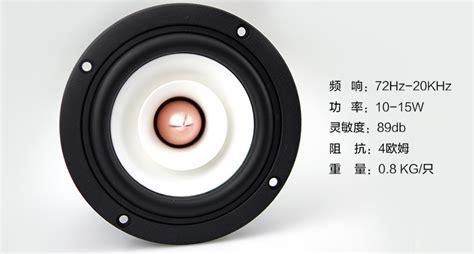 Plu Mba Speaker Series by 4寸发烧全频喇叭 3寸全频喇叭 5寸全频喇叭 声韵4寸全频喇叭 下午 发现喜欢